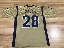 St. Louis Rams Marshall Faulk 28 Large Jersey NFL Puma Authentic