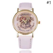 Ladies Women's Analog Quartz Wrist Watch Fashion Leather Watches Harry Potter
