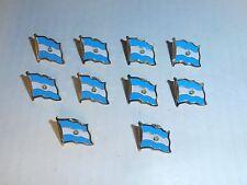 Wholesale Lot of 10 El Salvador Flag Lapel Pin, Brass Finish, Brand New