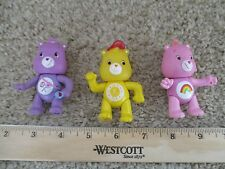 TCFC Care Bears Funshine Friendship Cheer 3 piece sharealot share cake topper