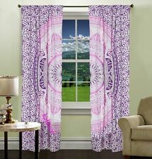 Ombre Mandala Cotton Wall Hanging Home Decor Window Door Curtains Balcony Drapes