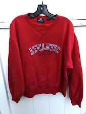 Gap Athletic Classic Red Crewneck Sweatshirt Medium