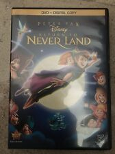 Return to Never Land (DVD, 2013, Special Edition Includes Digital Copy)