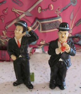 Vintage Laurel and Hardy Figures