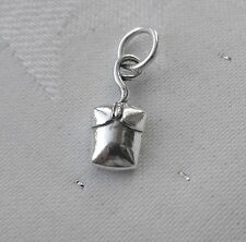 COMPUTER PC MOUSE 3D CHARM 925 STERLING SILVER