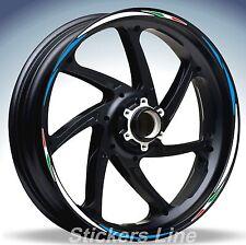 Adesivi ruote moto strisce cerchi SUZUKI GSXR 1000 Racing 4 sitckers wheel GSX R