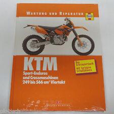 Reparaturanleitung Wartung und Reparatur KTM Sport-Enduros und Crossmaschinen
