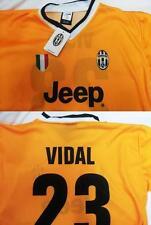 MAGLIA JUVENTUS 2014 VIDAL TAGLIA 10 ANNI PRODOTTO UFFICIALE JUVE FC 8 9 GIALLA
