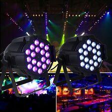 Hot RGBW 270W LED DJ Party Disco Stage Lighting PAR64 DMX-512 Wedding Xmas Show