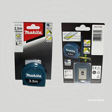 Makita B-57130 Maßband Stahl 3,5m x 16mm Massband Rollbandmaß Taschenbandmaß