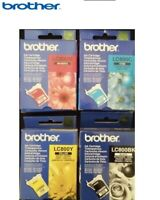4x GENUINE BROTHER LC800 C M Y BK Cyan Magenta Yellow Black Ink Cartridge fr MFC