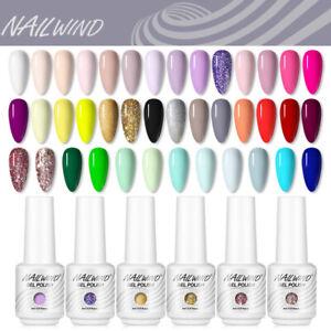 NAILWIND Soak Off UV LED Gel Polish Nail Art Manicure Varnish Base Top Coat