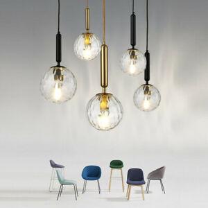 Glass Pendant Light Bedroom Ceiling Lamp Kitchen Lights Bar Chandelier Lighting