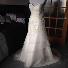 Casablanca Bridal Dress Gown Size 12