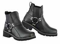 Winter Boots Motorbike Motorcycle Touring Short Shoes CE Armoured Leather Boots