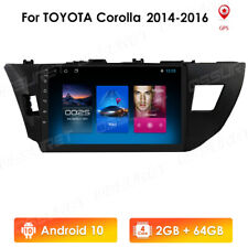 Android 10 Car Stereo for Toyota Corolla WIFI BT Radio GPS Navigation Head Unit