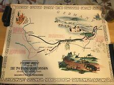 Original Set Of 4 – Kaliher & White WWII Maps – 1944-1945 – 79th Infantry