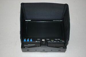 Ex-BBC TELETEST Broadcast Technology OZL1702 Camera Monitor & Glare Shield (22L)