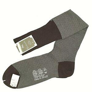 Pantherella Fine English Socks Men's Brown Over the Calf Premium NWT