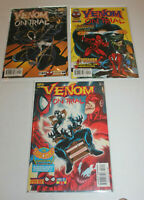 Venom On Trial 1 2 3 Complete Set 1997 NM- 9.2 Low Print Daredevil Spider-man