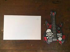 American Greetings Birthday Guitar Card