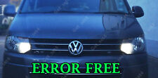 VW TRANSPORTER T5 2010+ DRL UPGRADE SUPER BRIGHT WHITE LED LIGHT BULBS
