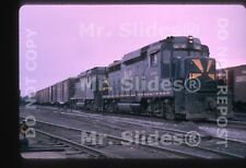Duplicate Slide B&O Baltimore & Ohio Matched Sunburst GP30 6948 & 6900 W/Train