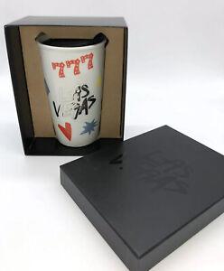Las Vegas 777 Starbucks Ceramic Travel Tumbler Collectors Mug New With Box 10 oz