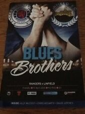 Rangers v Linfield - Friendly Match 10Apr13
