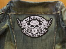 parche motero biker patches harley davidson HOG grande 27cm