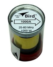 Bird 43 Wattmeter Element 1000A 25-60 MHz 1000 Watts (new)