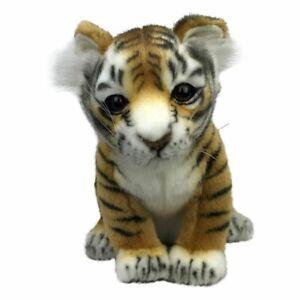 "Hansa Tiger Cub soft plush toy 7""/18cm Tiger Soft Toy"