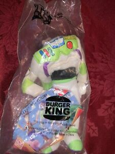 """Toy Story Buzz Lightyear 9"""" collectable toy from Burger King 1995 vintage!!"""