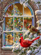 """Christmas Winner Holidays New DIY Paint By Number kit 16x20"""" Acrylic Painting"""