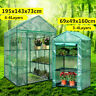 3 4 Tier Mini Greenhouse Cover Walk In Grow Green House PVC Cover Plastic Garden