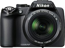 Nikon Coolpix P100 10 MP Digital Camera with 26x Optical Vibration Reduction