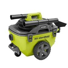 RYOBI Wet Dry Vacuum 6 Gal. 18-Volt Cordless Compact Bagless (Tool Only)