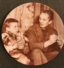 """Vintage 1982 Norman Rockwell Plate """"Norman and Scotty"""" signed autographed /9500"""