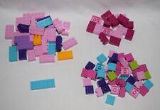 Lego Bricks Parts 2x6 2x4 2x3 2x2  LOT OF 92  Friends Colors   #LX792