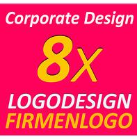 8x Logo Vorschläge TOP Service Firma Firmengründung Firmenlogo Corporate Design