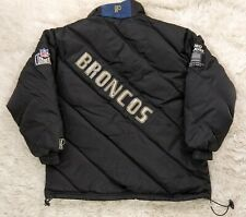 Denver Broncos Men's Size XL Pro Player Puffer Jacket Coat NFL Vtg Experience