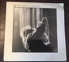 U2 Wide Awake In America Vinyl Shrink, NM TESTED 1985 1st Press 90279-1A Record