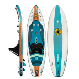 Body Glove Porter Inflatable Kayak/SUP Hybrid with Accessories