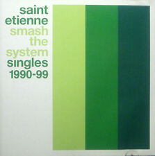 CD SAINT ETIENNE - smash the system, singles 1990-99