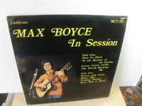 Max Boyce – In Session at the Valley Folk Club 1971 LP Cambrian MCT 207