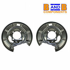 MERCEDES A CLASS W169 W245 REAR DISC BRAKE PROTECTION BACK PLATES PAIR A1188
