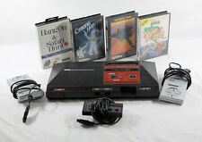 Vintage Retro Sega Master System US 100% Complete with 4 Games and Controllers