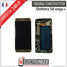 Ecran LCD Gold Original Samsung Galaxy S6 Edge + G928