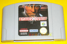 FIGHTERS DESTINY Nintendo 64 N64 Versione PAL ••••• SOLO CARTUCCIA