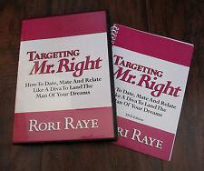 Targeting Mr. Right– Rori Raye – 5 Disc DVD + Workbook Set - NEW